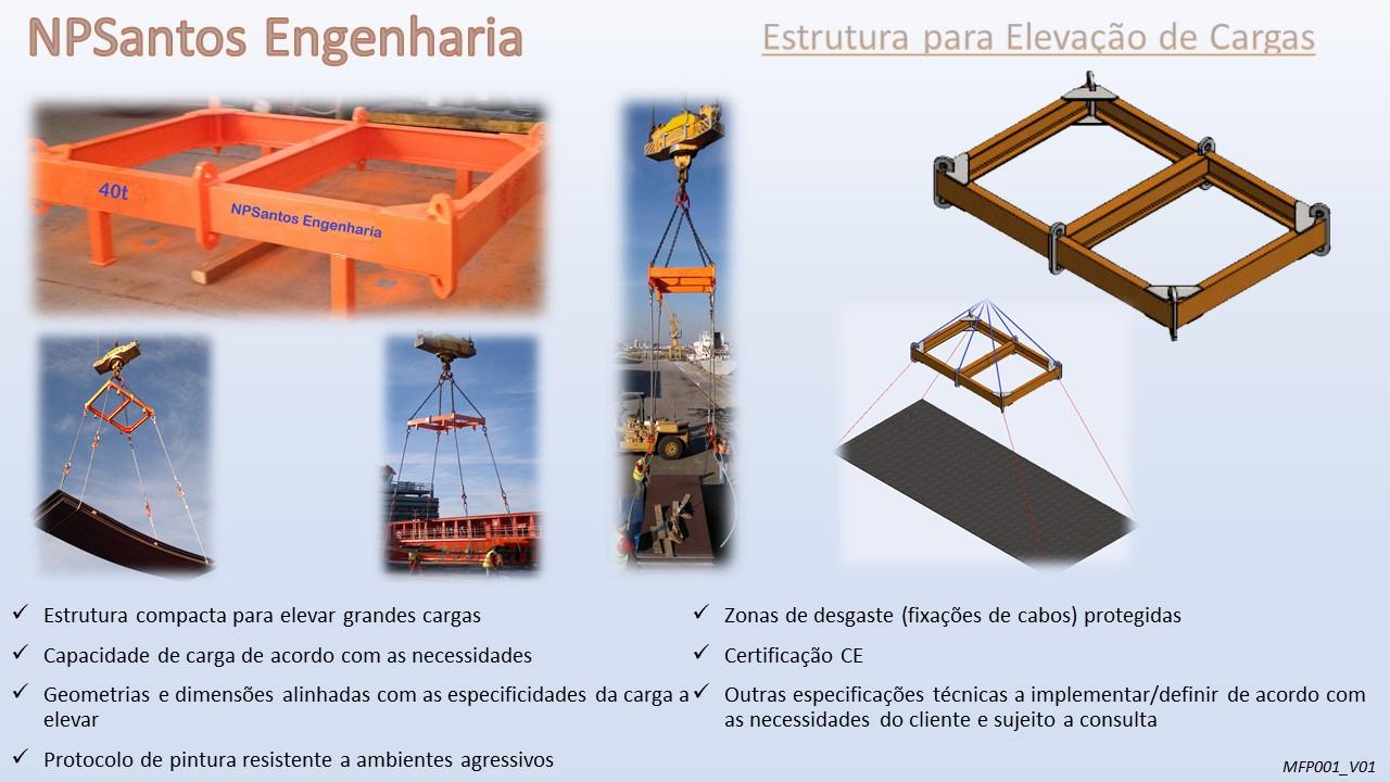 Estrutura para Elevação de Cargas